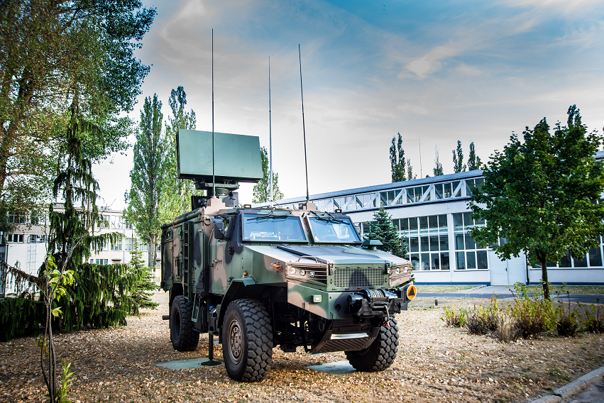 SOŁA Redeployable Radar | PIT-RADWAR